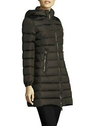 Nwt Moncler Orophin Hooded Down Puffer Coat, Olive, Moncler 5/us Xl, Msrp 1660