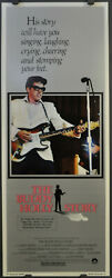 Buddy Holly Story 1978 Original 14x36 Nr Mint Movie Poster Gary Busey Don Stroud