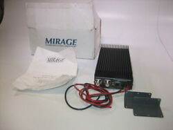 Mirage Pac30-130-b Commercial 30w In 130w Out Vhf Amplifier - 150-174 Mhz - New