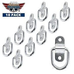 10 Pk Zinc Plated D Ring Tie Down Anchors 3500 Capacity Leisure Coachworks