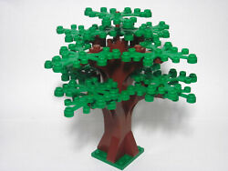 Custom forest tree for LEGO with 14 green leaves new parts FREE U.S. Ship