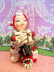 Vtg Christmas Santaand039s Helper Twinkle Original By Robyn W Gifts Toys Candy