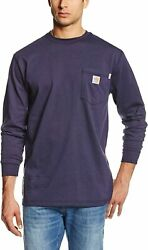 Menand039s Big And Tall Flame Resistant Force Cotton Long Sleeve T-shirt