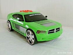 Ultra Rare 2010 Road Rippers Toy State Dodge Charger - Works Great - 13 Inches