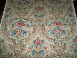 Pierre Deux Soriano French Country Toile Fabric 10 Yards Picknic Brown Multi
