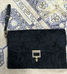 JASON WU FOR TARGET ENVELOPE CLUTCH BLACK PURSE $19.95