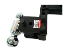 Bandw For Tow And Stow Adjustable 3 Drop 3-1/2 Rise Dual 1-7/8x2 Size Ball Mount