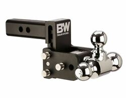 Bandw For Tow And Stow 3 Drop 3-1/2 Rise 1-7/8 X 2-5/16 X 2 Size Tri-ball Mount