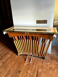 Art Furniture, Side Table Organ Pedal Piano Parts