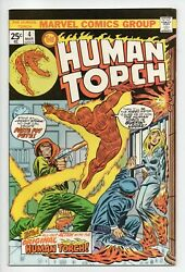 Human Torch 4 Vf+ 8.5 4th Issue Reprints Story From Strange Tales 104