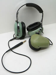 David Clark H5010 Sound Powered Aviation Headset With Microphone