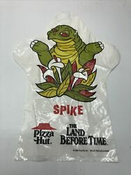 Vtg 1989 Pizza Hut The Land Before Time Spike Promotional Plastic Hand Puppet