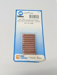 Miller 135425 Tip Contact .062/.081 Wire. 10 Pack For Spoolmatic