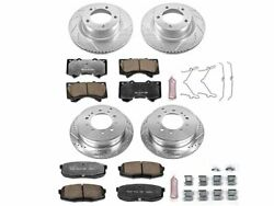 For 2007-2020 Toyota Tundra Disc Brake Kit Front And Rear Power Stop 46649vh