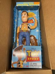 Unopened Poseable Pull-string Talking Woody - Toy Story Disney - Thinkway Toys