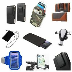 Accessories For Highscreen Power Rage Evo Case Holster Armband Sleeve Sock B...