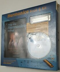 New Harmonica Book And Kit Play Cd Beginners Learning Music Set New Learn