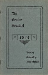 1944 Senior Sentinel - Hubley Township High School Yearbook - Valley View, Pa+