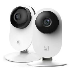 Yi 2pc Home Camera 1080p Wireless Ip Security Surveillance System Night Vision