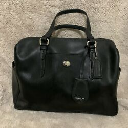 Coach Black Satchel Handbag $60.00