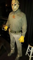 Friday The 13th Part 6 Jason Voorhees Costume Mask Michael Freddy Leatherface