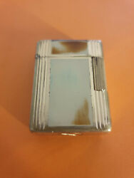 S.t. Dupont Antique Small Ligne 1 Laque De Chine Lighter Not Tested As Is 1950s
