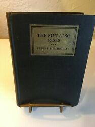 The Sun Also Rises Ernest Hemingway 1926 Stoppped 1st Edition 1st Issue