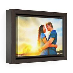Wall Art Convert Photo To Custom Painting Canvas Gallery Wrapped Wooden Frame