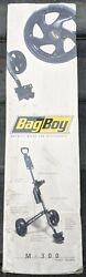 New Bag Boy Golf Cart Collapsible Fold Away Push Pull M 300 Model New Unopened