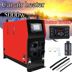 5kw 12v Air Diesel Heater All In 1 Lcd Thermostat Remote For Trailer Truck Car