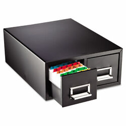 Steelmaster Card File Drawers - 14.4 X 16 X 6.2 - 2 X Drawers - Stackable