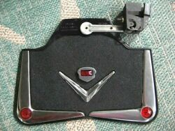 Deluxe 1930's-50's Chevy Ford Simco V-8 Fender Mud Flaps Nib Nos Hot Rat Rod