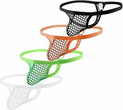 4ufit Menand039s See Through G-string Tong Underwear Fishnet Mesh Tongs Underwear