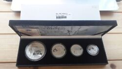 South Africa 2002 The Elephant Wildlife Series 4 Coin Proof Silver Set