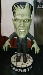 Rare Sideshow Little Big Head 4and039 Frankenstein Store Display Local Pick Up Only