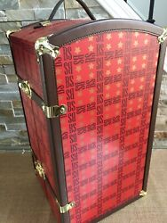 Effanbee 18 T Red Brenda Starr Doll Wardrobe Trunk Case Fits16 Doll And Clothing