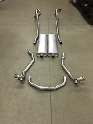 1957 Chevy Hardtop Dual Exhaust System 304 Stainless