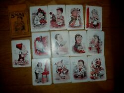 Antique/vintage Snap Card Game Gibsons