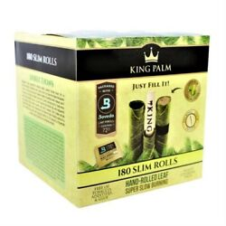 King Palm 180 Slim Size Rolls That Hold 1.25 Grams