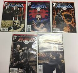 Lot 5 Marvel Knights Comic Books The Punisher Issues 1 To 5 2001 Series