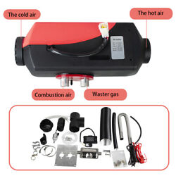 Portable 5000w 12v Air Diesel Fuel Heater For Car Truck Boat Bus 10l Tank Sale