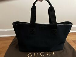 Gucci large canvas tote bag for women $350.00