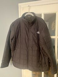 The North Face Mens Down Jacket Full ZIP XL Black $40.00