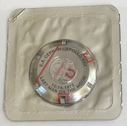 New Old Stock Genuine Omega Speedmaster Watch Case Back For Apollo 17 Cal 861