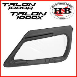 Honda Oem Fabric Upper Doors For 2019 2020 And 2021 Talon 1000r And 1000x