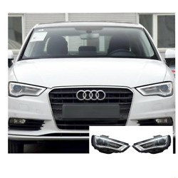 For Audi A3 Led Headlights Led Drl 2015-2016 Replace Oem Headlight Sequential
