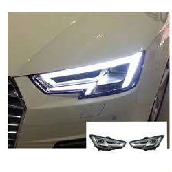 For Audi A4 Led Headlights Led Drl 2016 Replace Oem Headlight Sequential