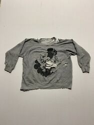 Malcolm Mclaren Punk Rock M And M Sexy Time Thrashed Crewneck 50andrsquos Penneys Vintage