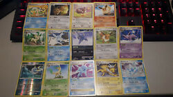 Full Eevee Collection Shining + X + - All Evolutions- New / Vintage Cards