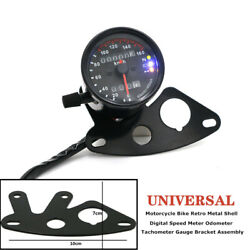 1pcs Motorcycle Shell Digital Speed Meter Odometer Tachometer Gauge Bracket Part